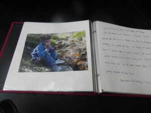 An example of a scrapbook.